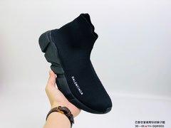 85巴黎世家 Balenciaga 高帮针织弹力轻便袜子鞋 YHSQW8S