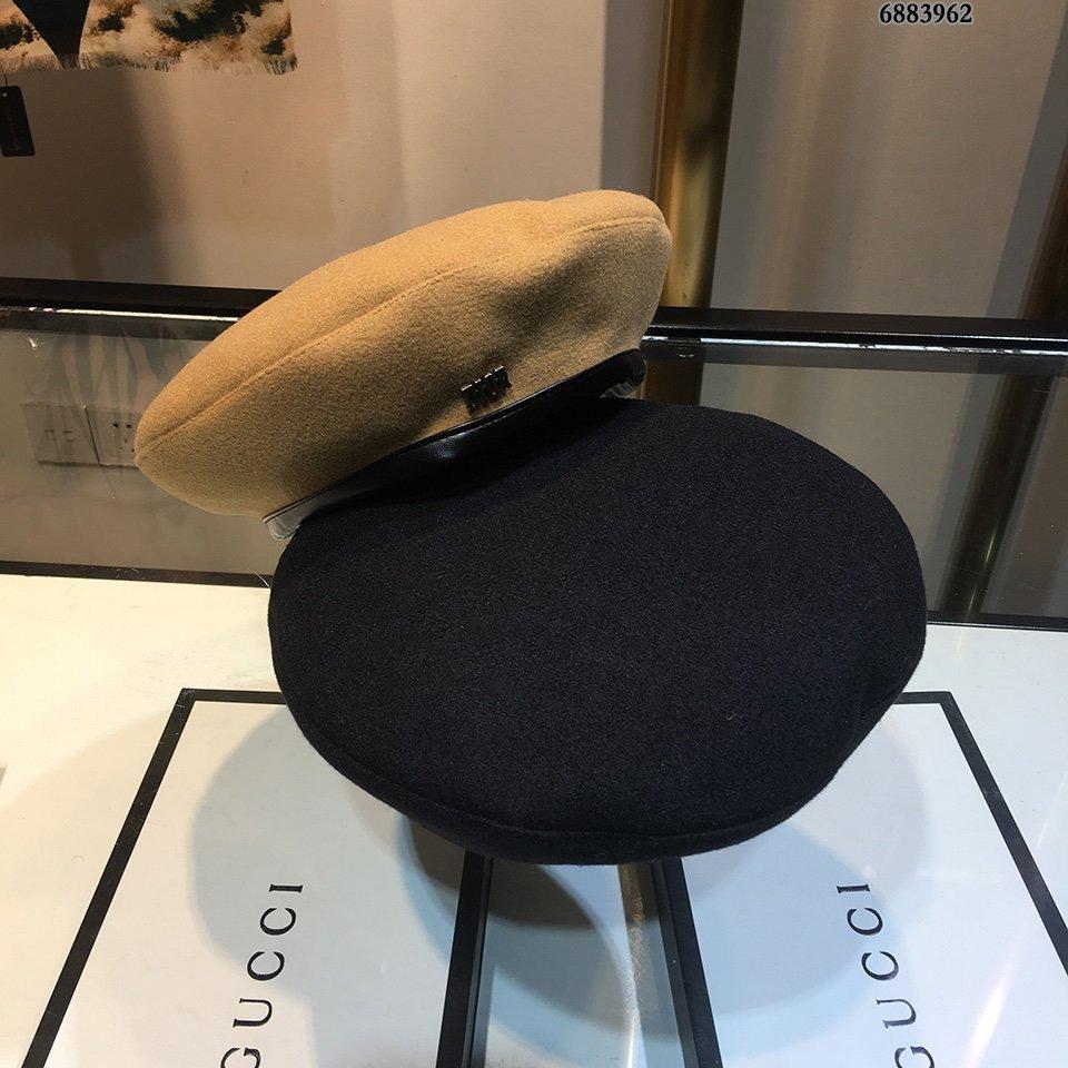 Dior迪奥新款羊羔绒贝雷帽秋冬保暖