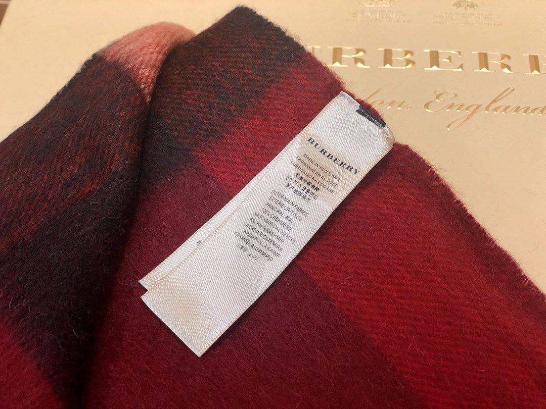Burberry披肩围巾两用 专柜同款(图5)