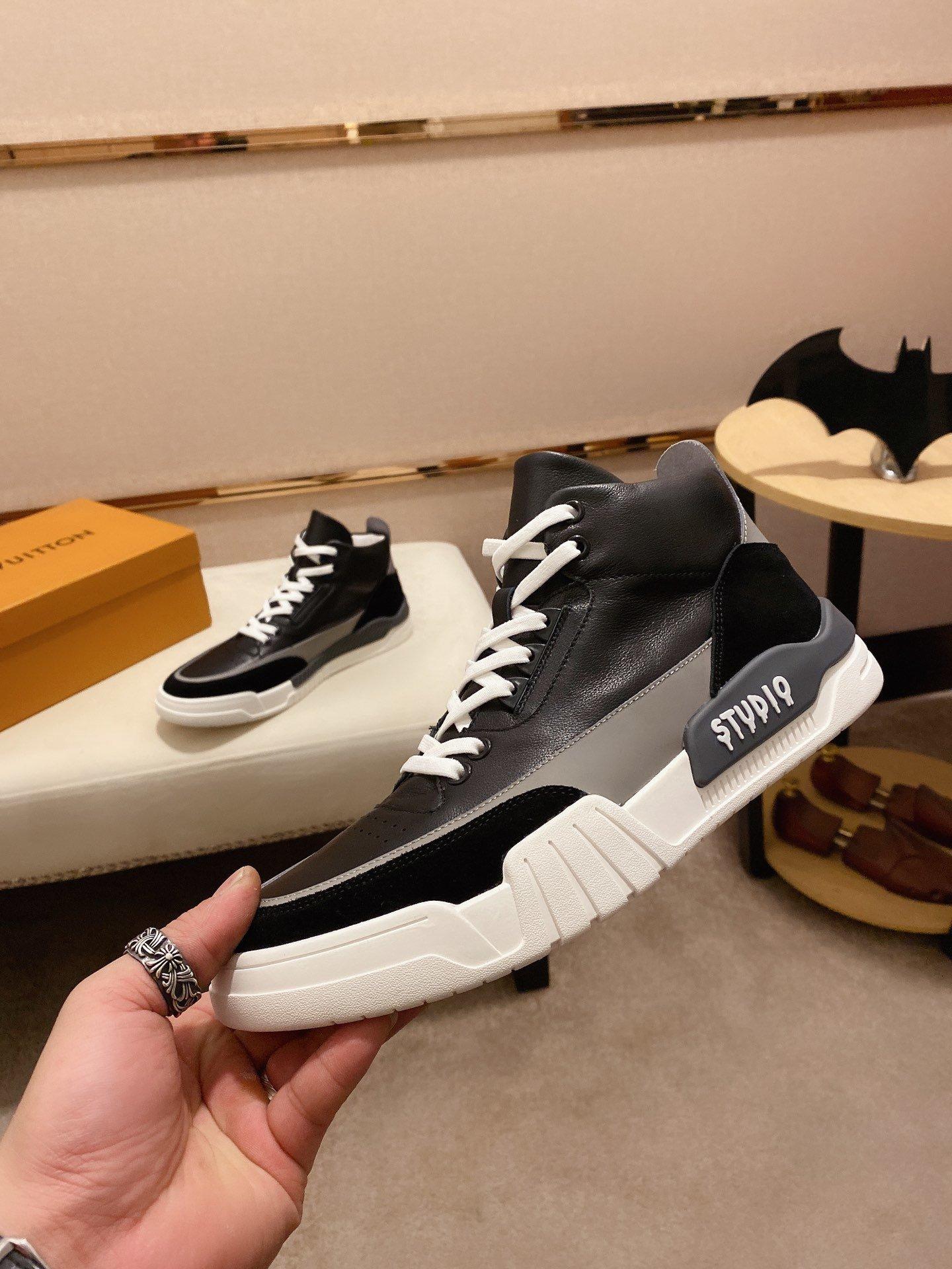 LV路易威登最新潮鞋休闲鞋实体店爆款