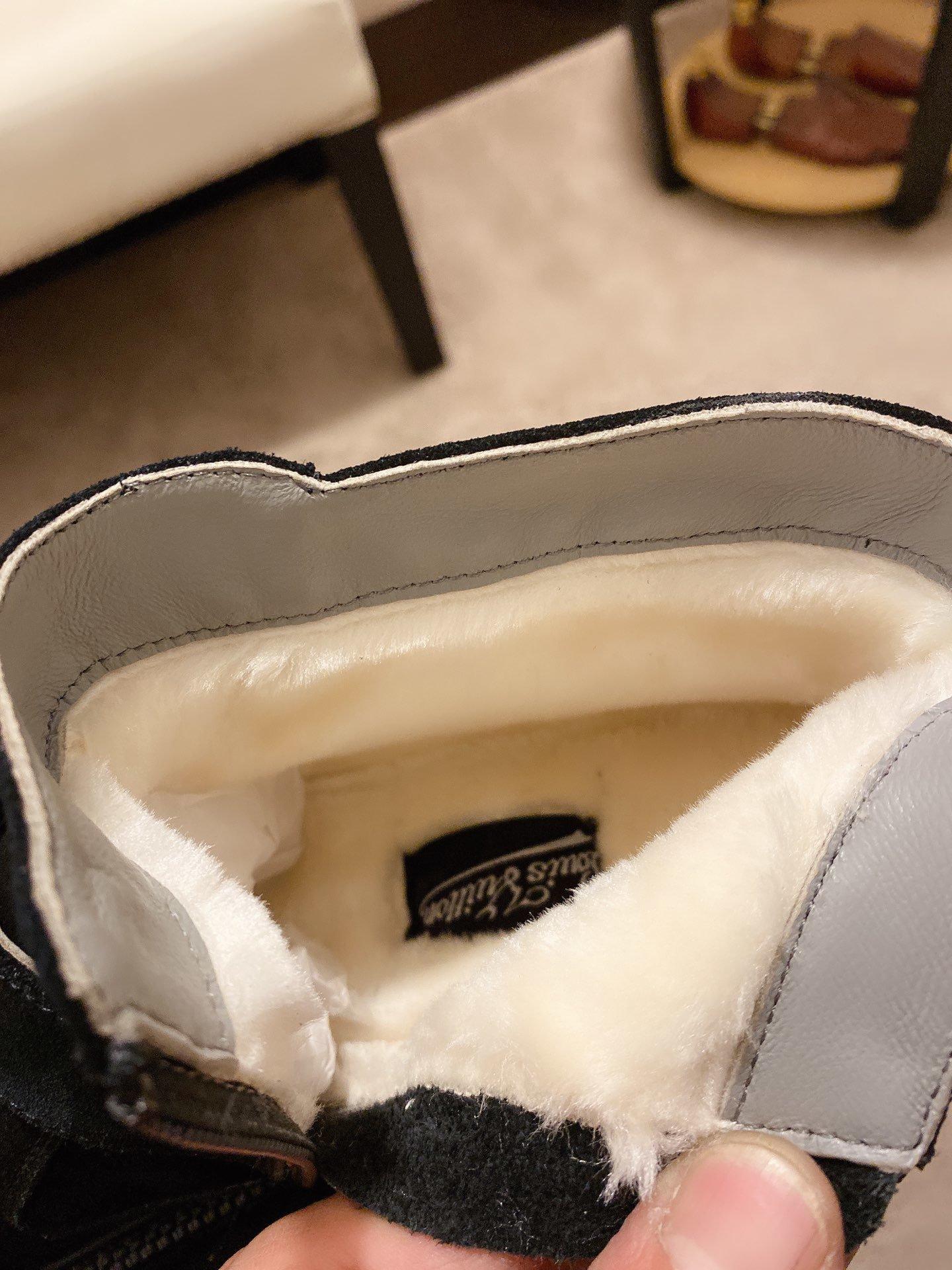 爆款LV男士高帮休闲鞋时尚百搭款原版