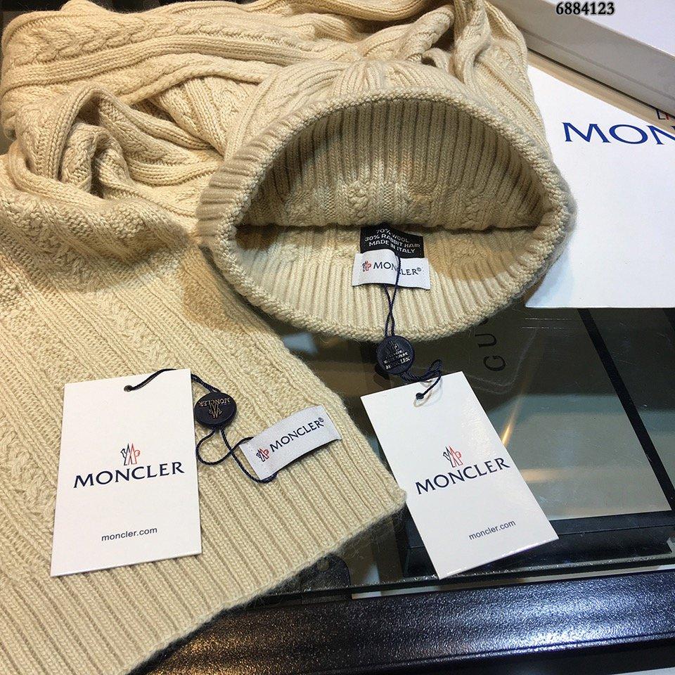 原单帽子围巾套装!兔绒羊绒材质保暖又