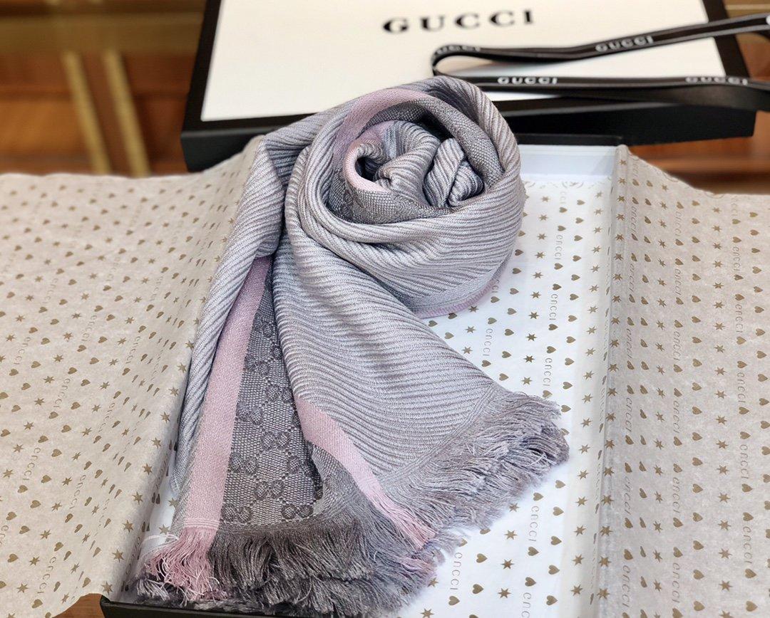 古奇Gucci经典男士羊毛围巾 海外原单(图1)