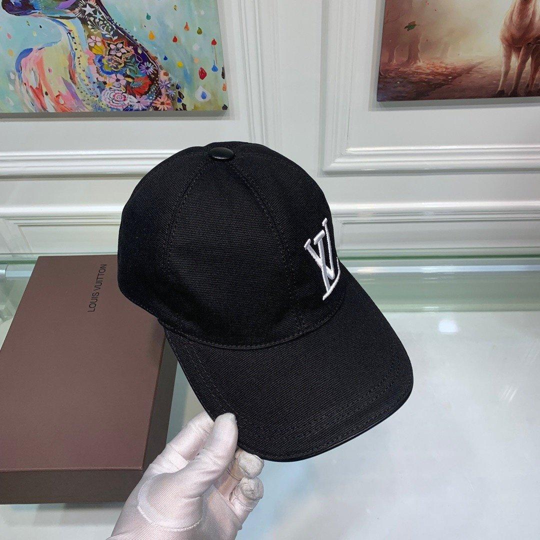 LV路易威登新款原单棒球帽LV刺绣专