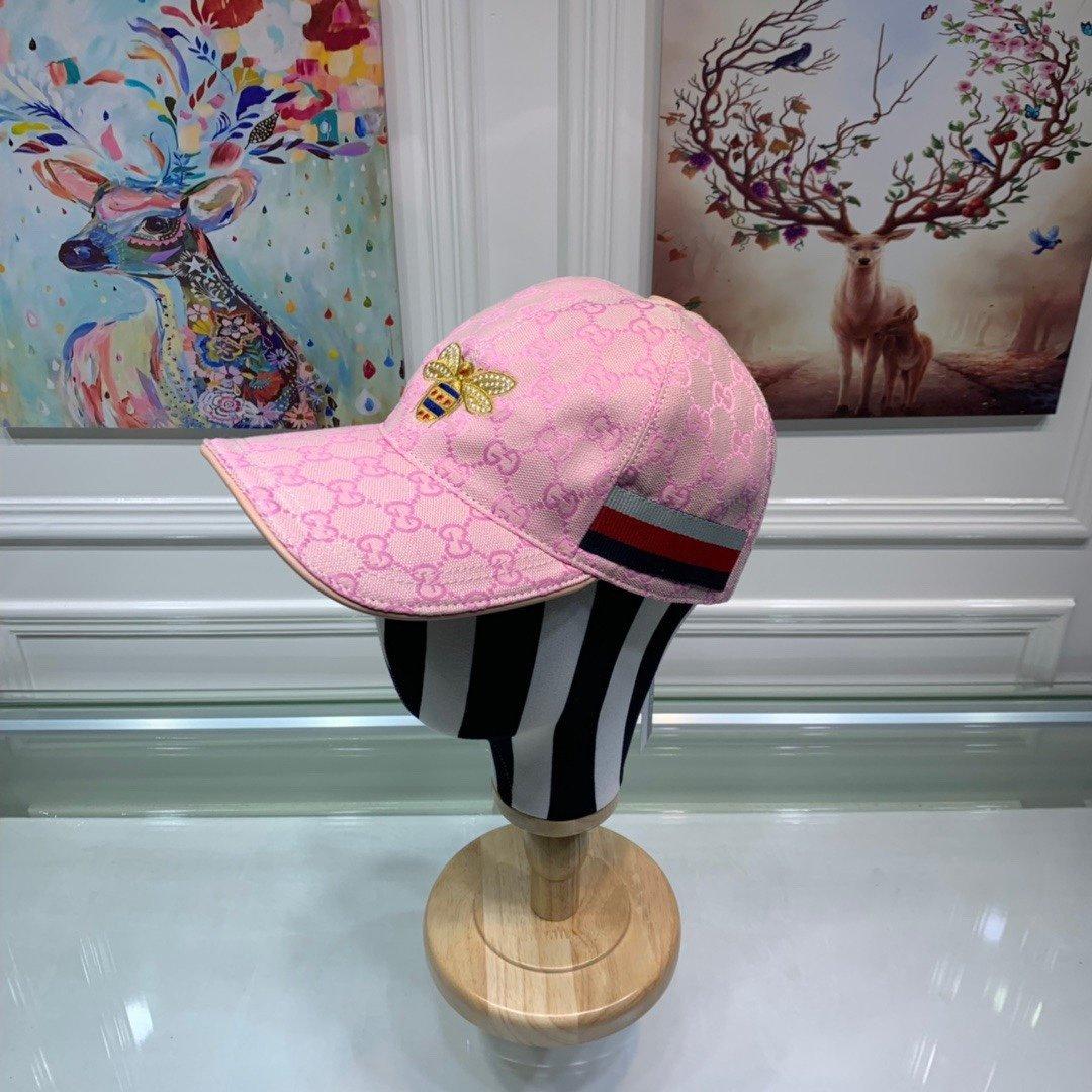 Gucci古奇新款原单棒球帽刺绣蜜蜂