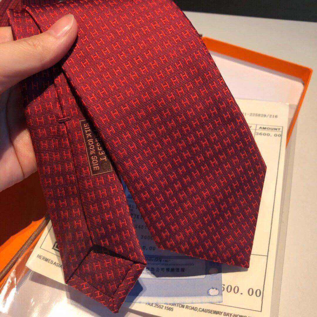 领带新款出货啦爱马仕2019男士新款