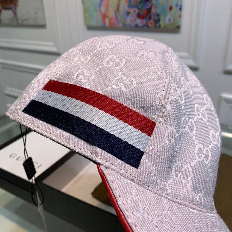 Gucci古奇经典原单棒球帽三色织带