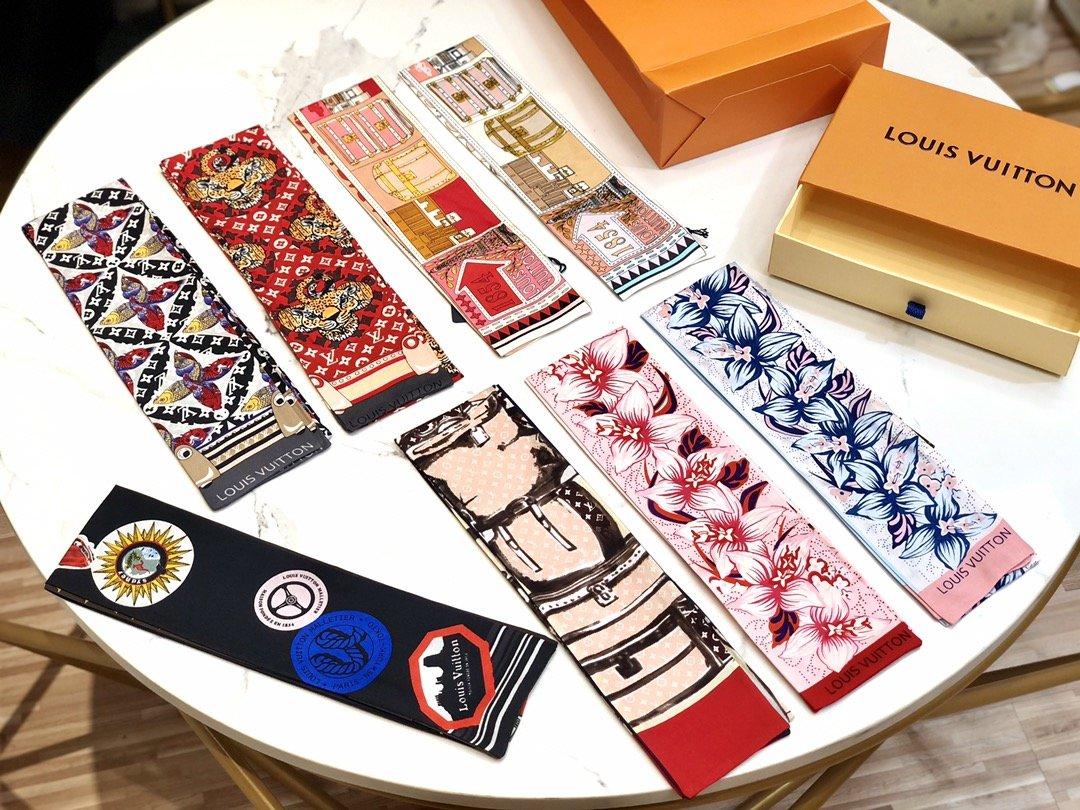 Louis Vuitton Lv 2019年新款丝巾(图5)