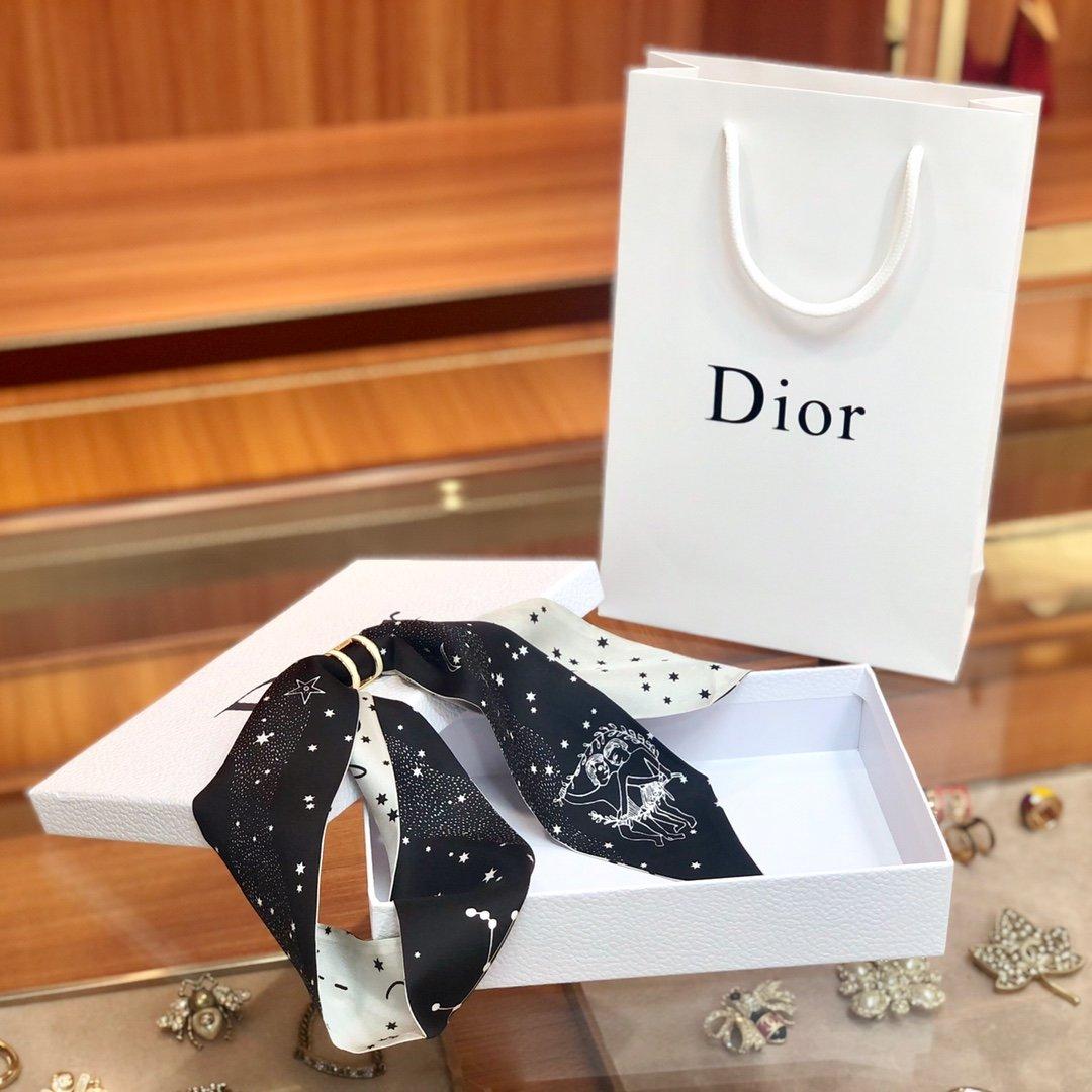 Dior迪奥 Twilly星座系列 小丝巾 (图4)