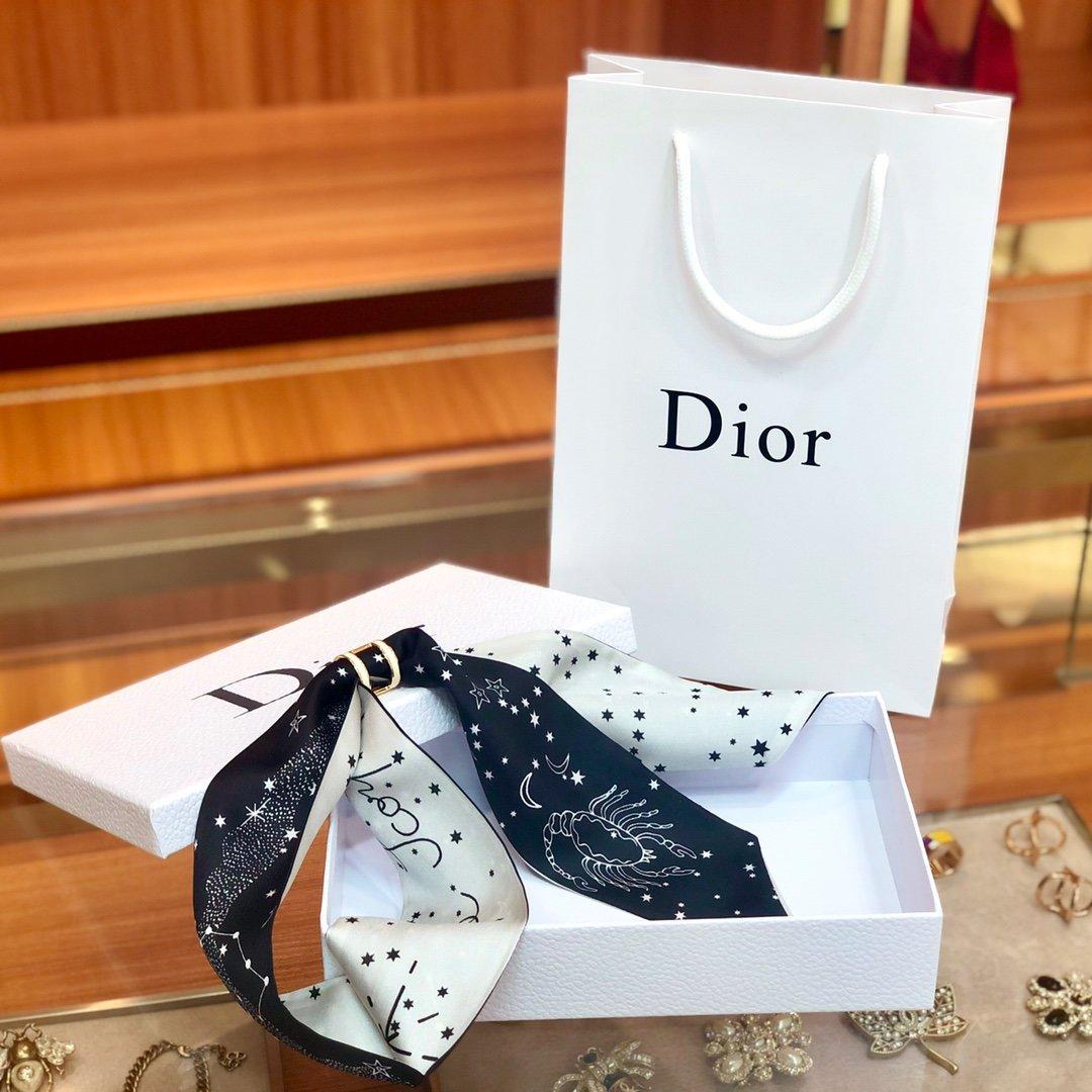 Dior迪奥 Twilly星座系列 小丝巾 (图2)