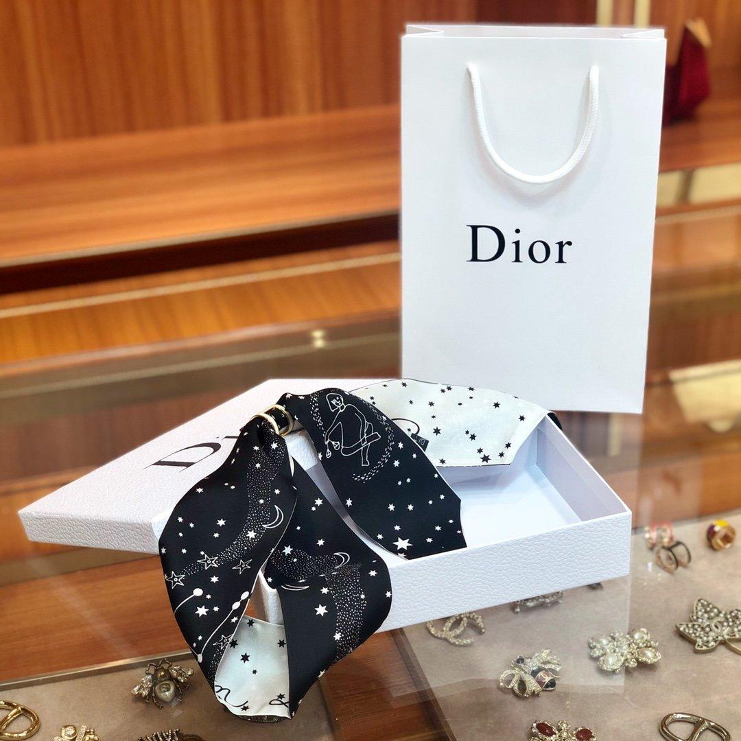 Dior迪奥 Twilly星座系列 小丝巾 (图9)