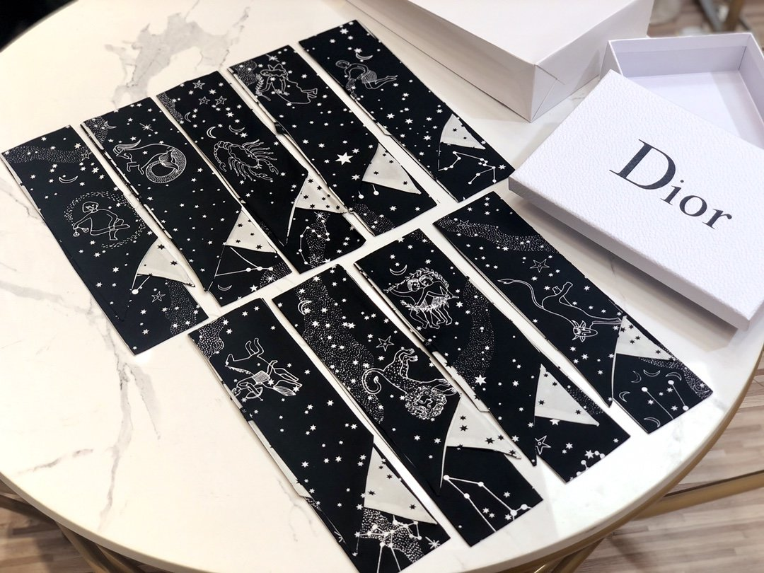 Dior迪奥 Twilly星座系列 小丝巾 (图1)