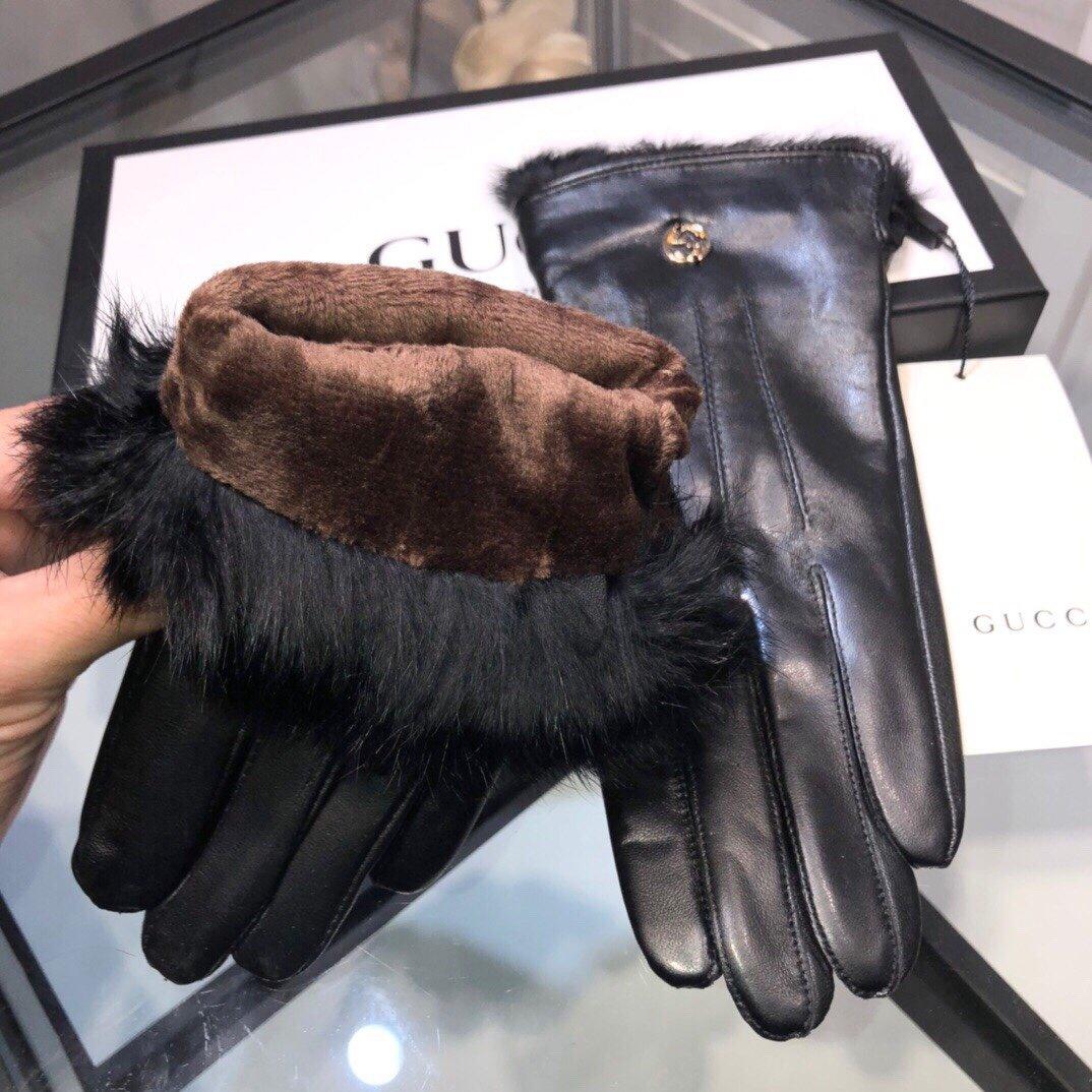 配包装新款独家首发触屏手套Gucci