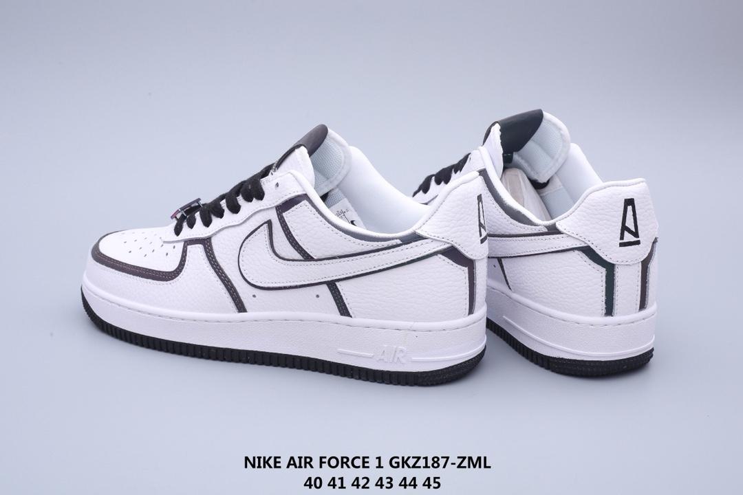 亚特兰大地标性潮流店铺A Ma Maniére x Nike Air Force 1 联名系列 幻彩全息+炫酷反光GKZ187-ZML