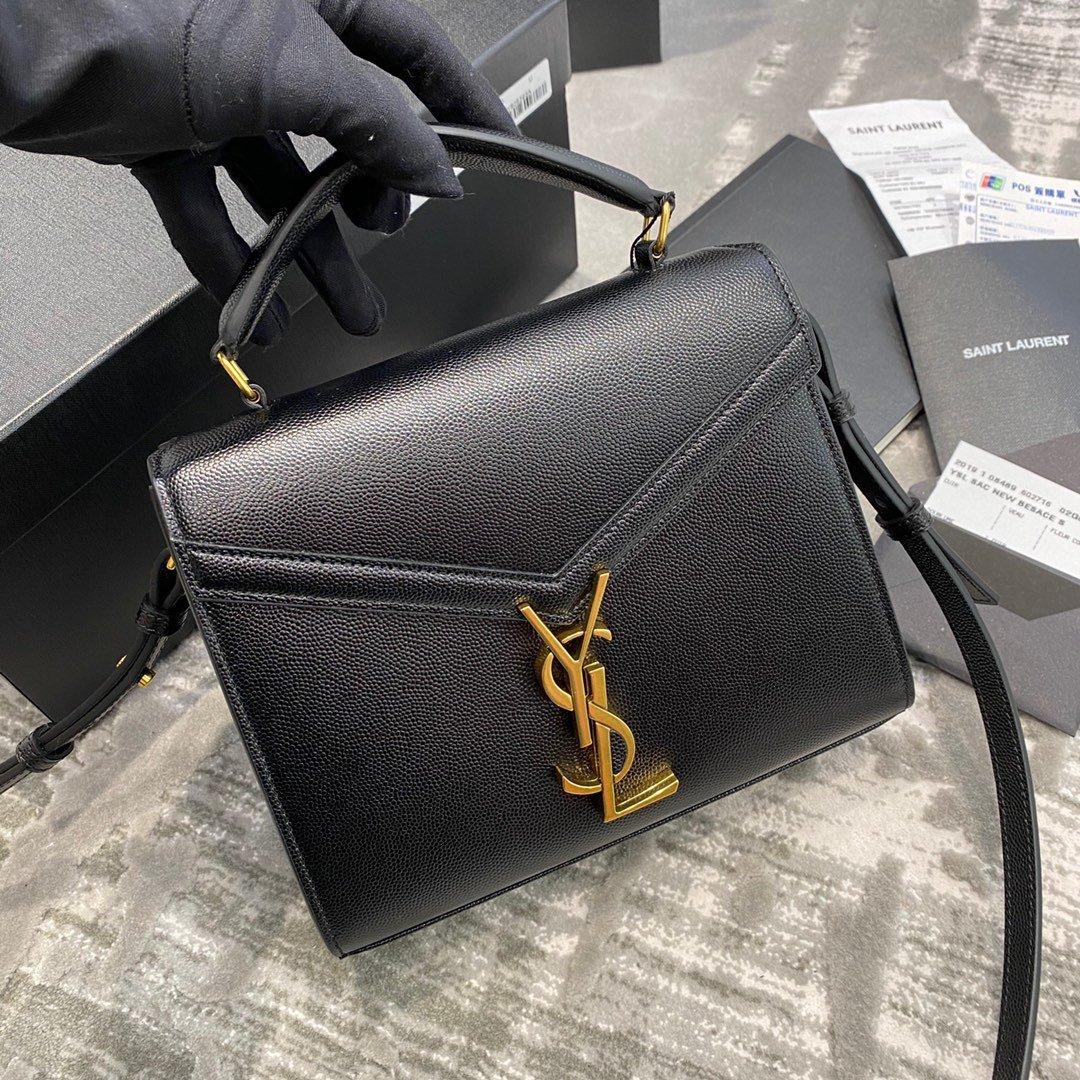 CASSANDRA迷你尺寸原厂皮版本鱼子酱纹手拎包!