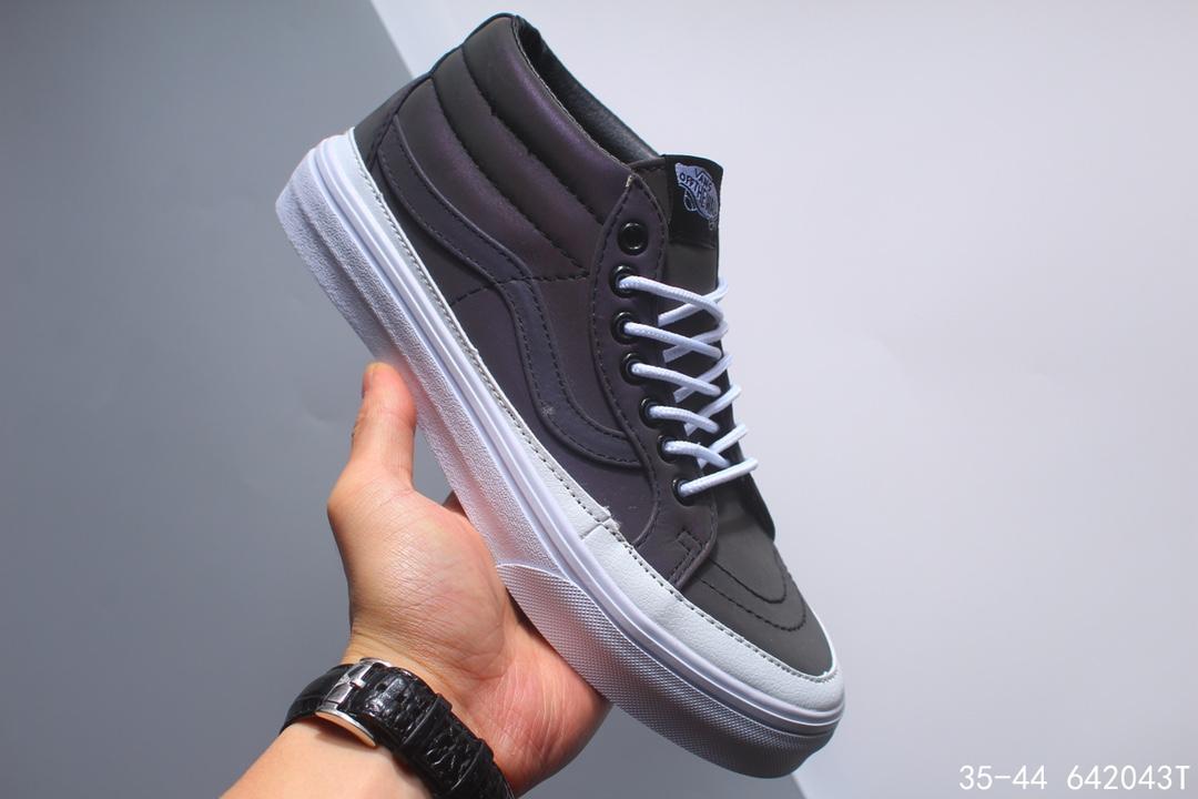 🈴💰168万斯/范斯 Style 36 Cecon SF 19年新版翻盖鞋盒 重磅回归 权志龙小头杀人鲸 休闲板鞋 加入当下火爆的杀人鲸半月包头,塑造出不一样的复古鞋型 !size:如图编码:642043T