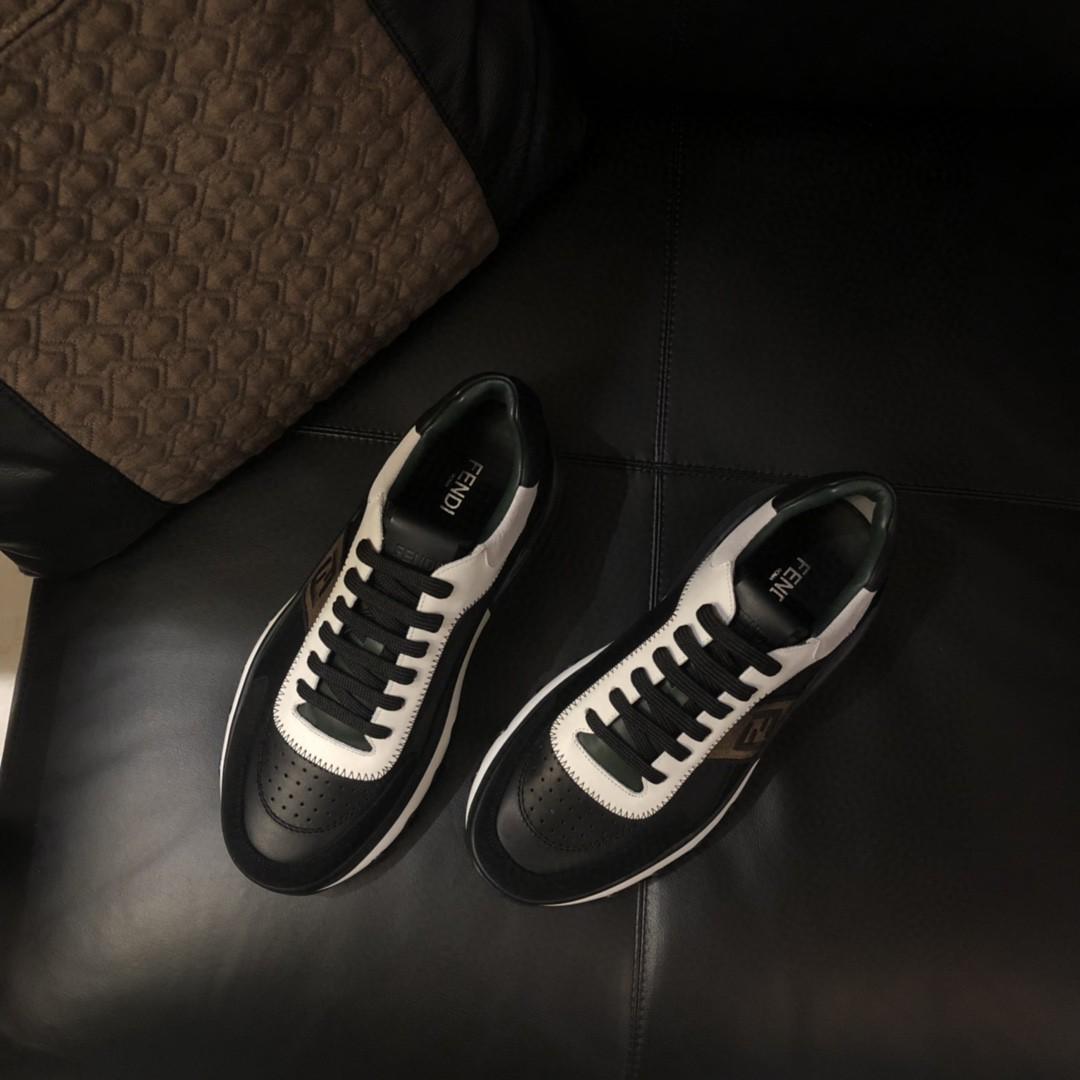 芬迪Fendi.家新款休闲气垫运动鞋