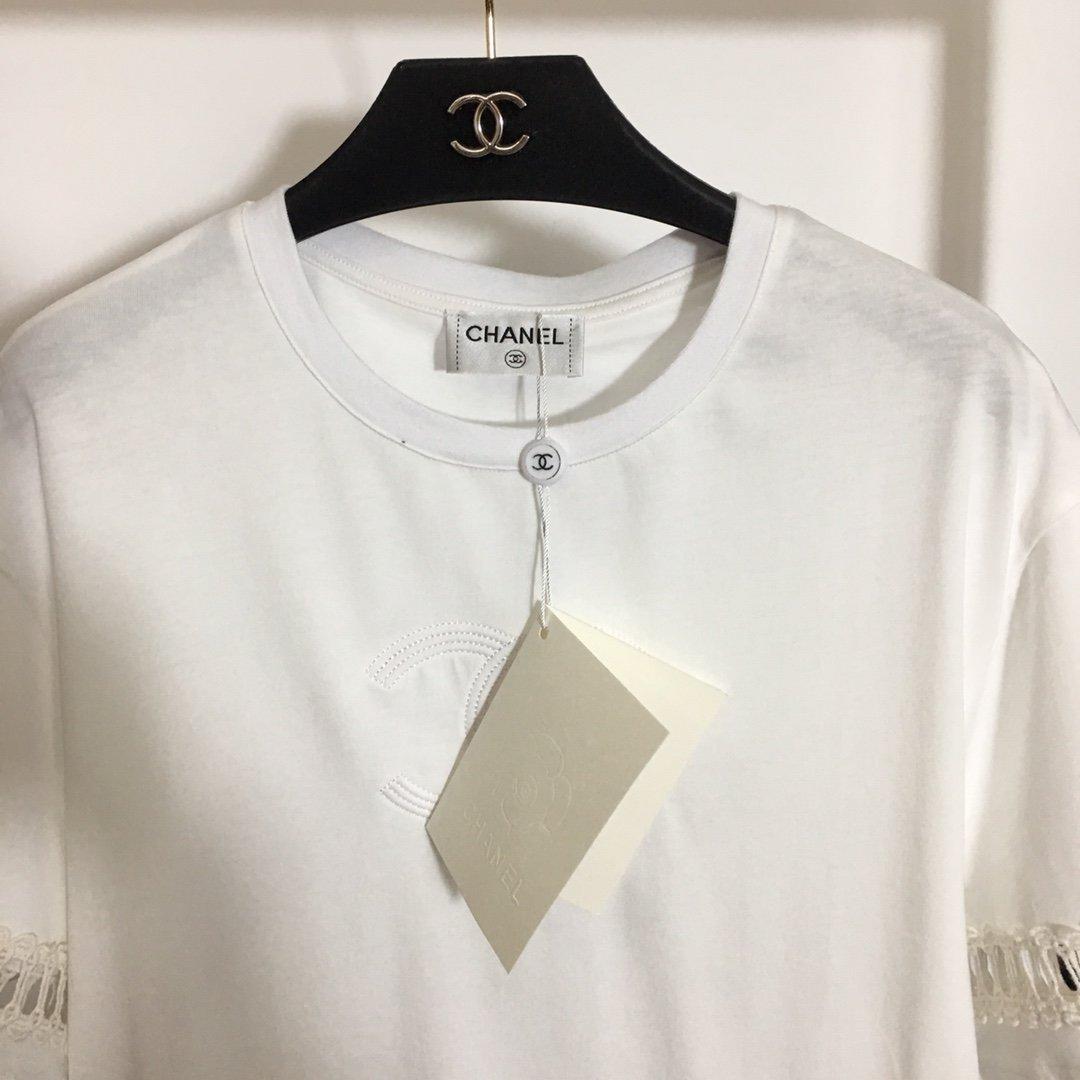 Chanel新款小香风双C刺绣log