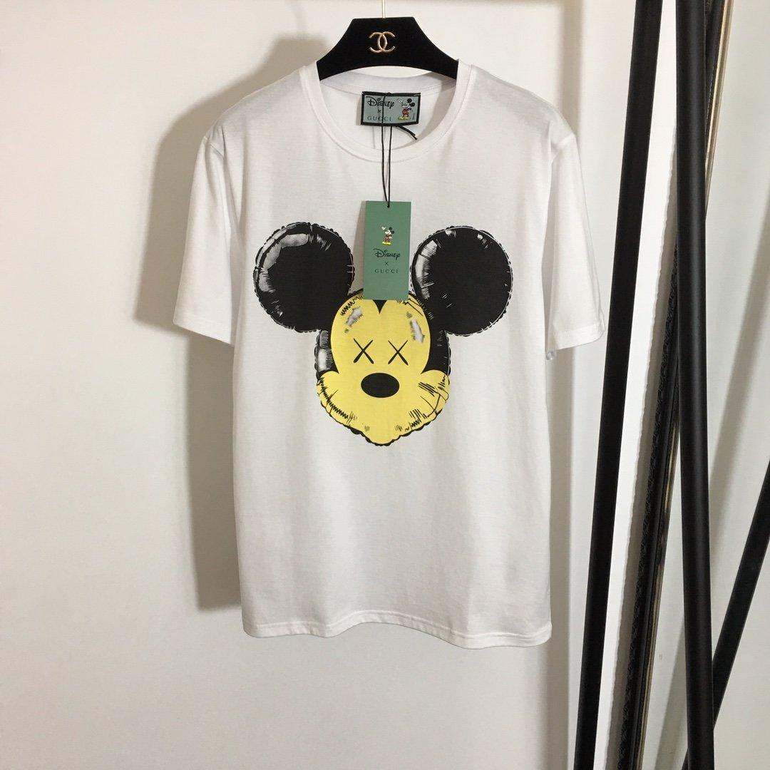 Gucci新款卡通米老鼠印花短袖T恤