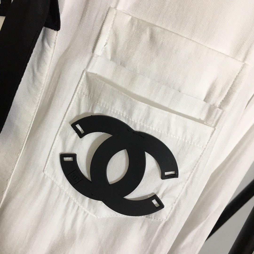 Chanel新款小香风logo橡胶印