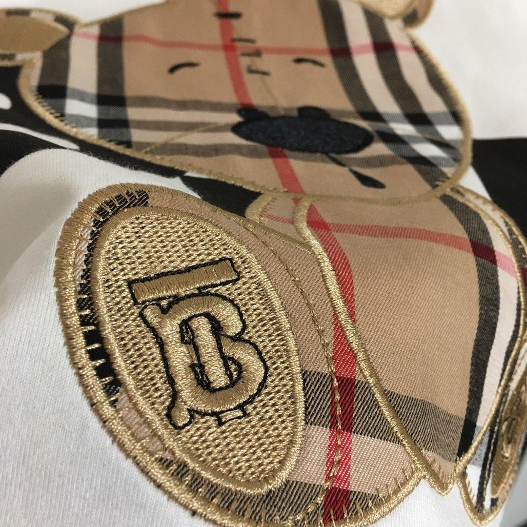 Burberry新款TB小熊刺绣字母
