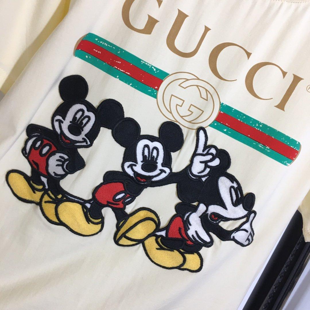 Gucci新款迪士尼卡通米奇系列三只