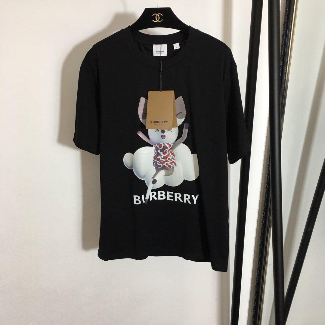 Burberry新款卡通小松鼠字母l