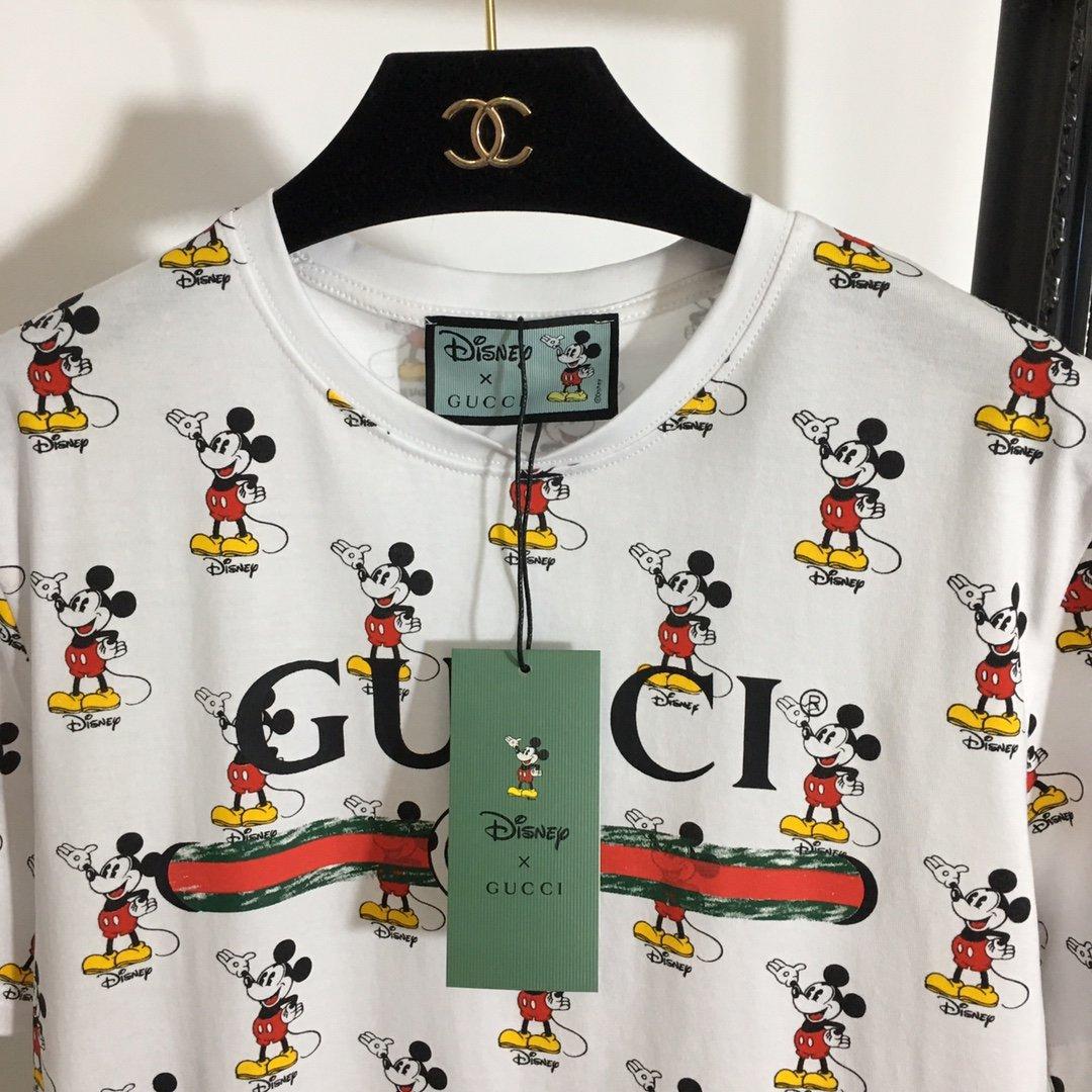 Gucci新款迪士尼系列卡通米奇满身