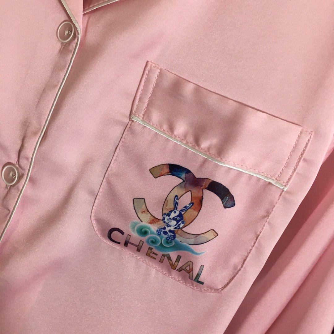 Chanel新款小香风腾云兔子log