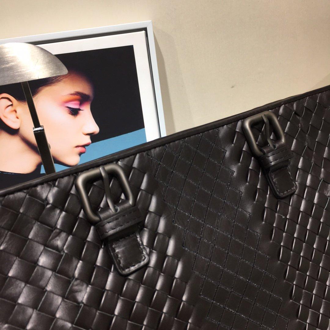Bottega Veneta宝提嘉秋冬新款 顶级胎牛皮手提包 特殊编织 (图7)