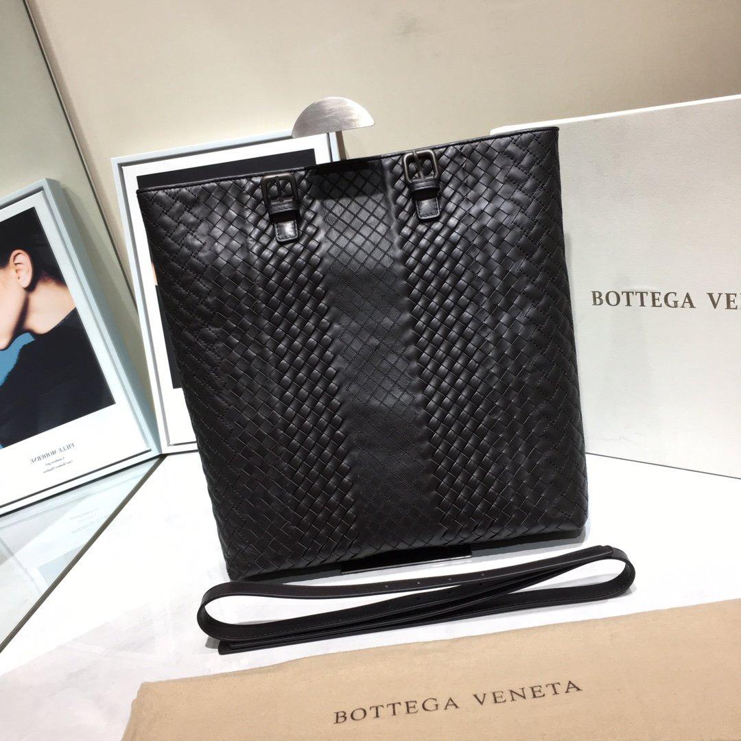 Bottega Veneta宝提嘉秋冬新款 顶级胎牛皮手提包 特殊编织 (图1)