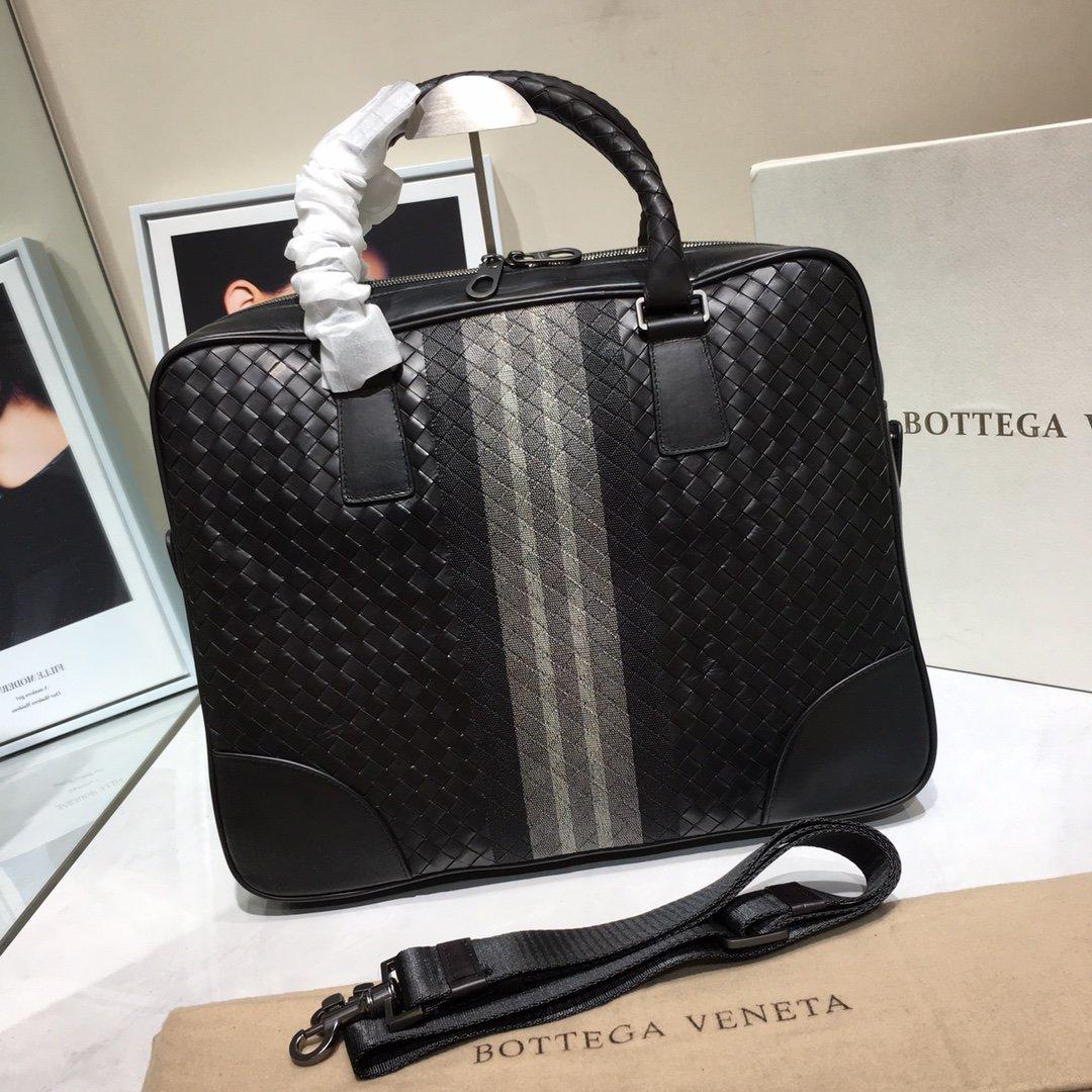 Bottega Veneta宝提嘉BV公文包 原厂进口胎牛皮(图1)
