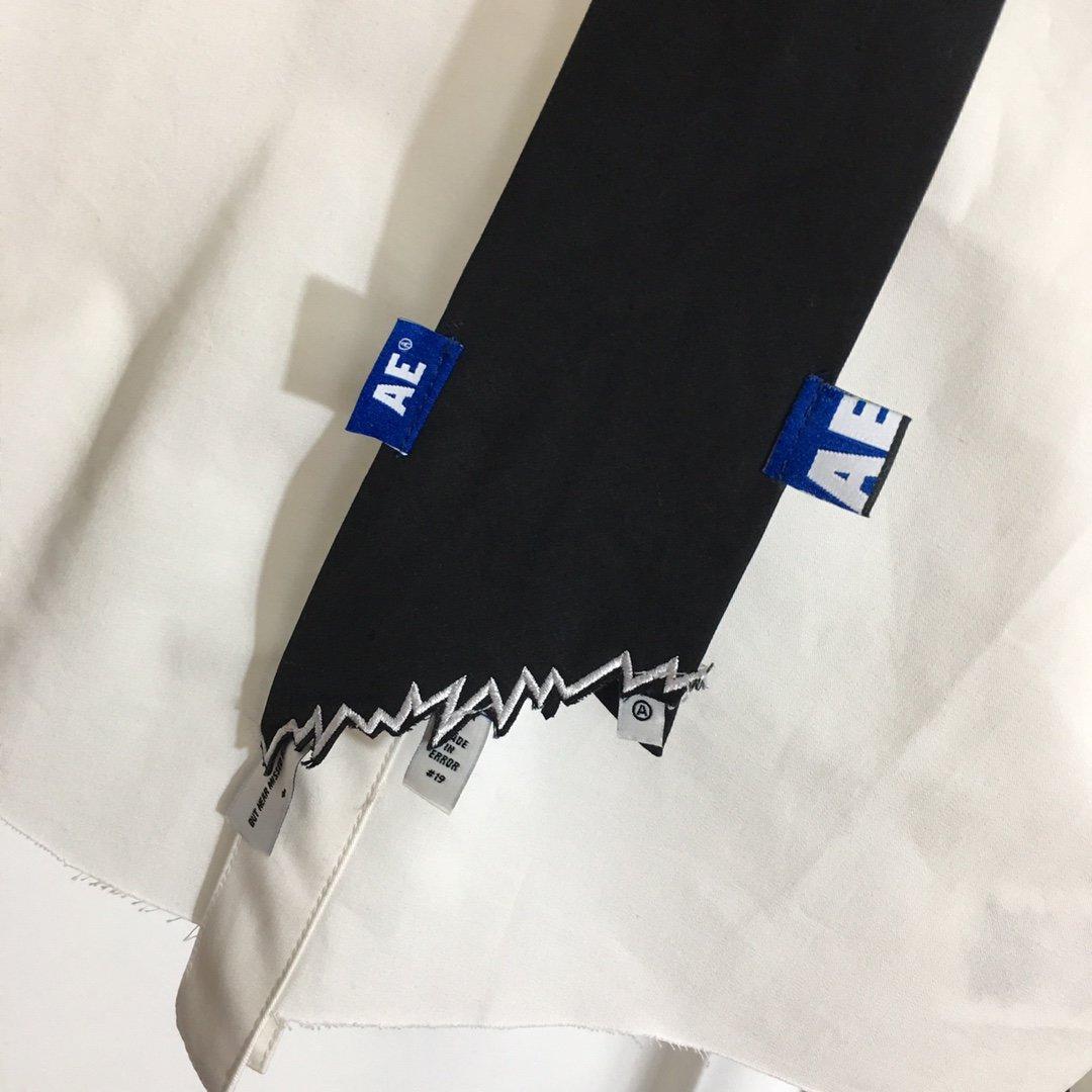 Adererror新款领标外贴配领带