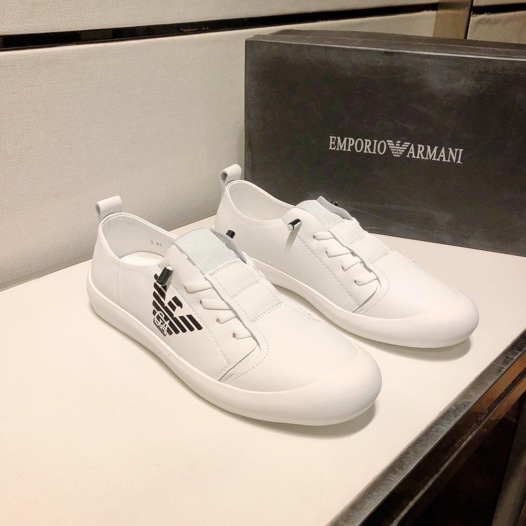 新款阿玛尼最新官网同款原单品质鞋面采