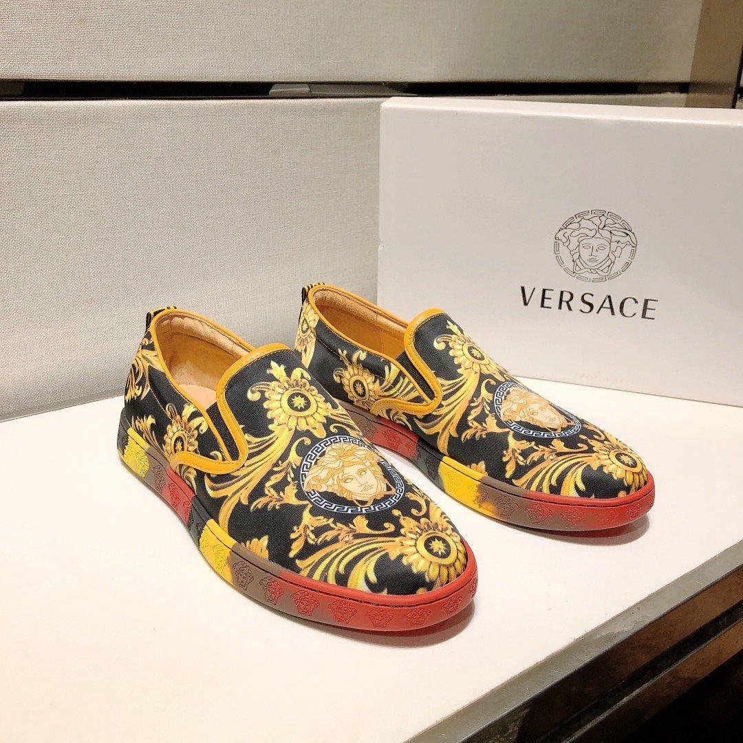 范思哲VERSACE最新款男鞋爆款热