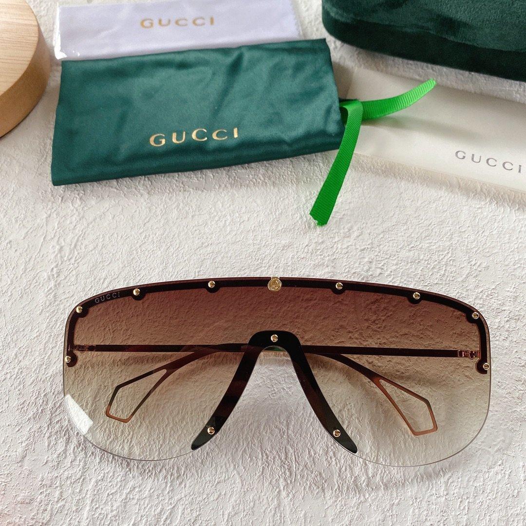 GUCCI古驰 GG0667S 古琦太阳眼镜 护目镜 墨镜专