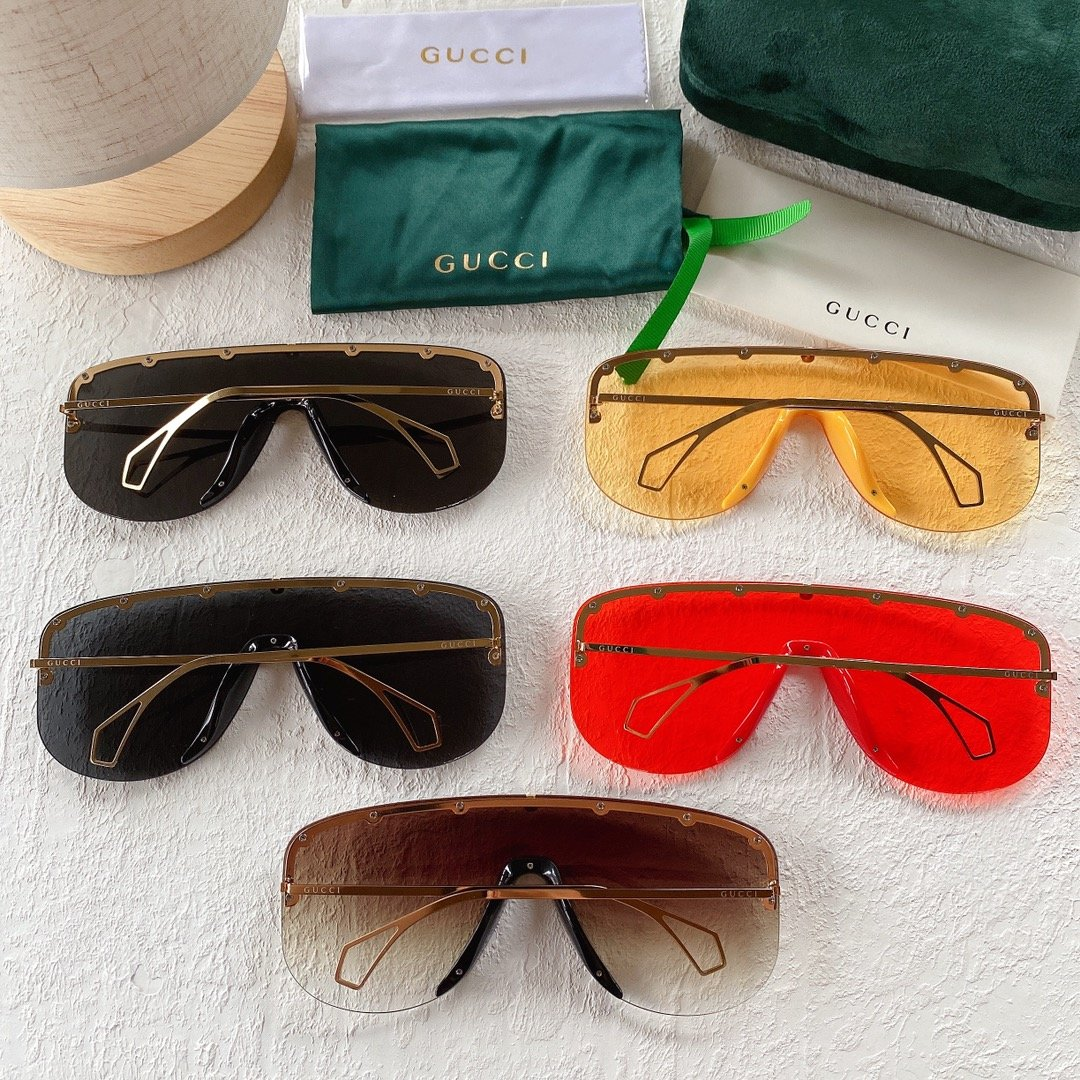 GUCCI古驰 GG0667S 古琦太阳眼镜 护目镜 墨镜专柜同款(图2)