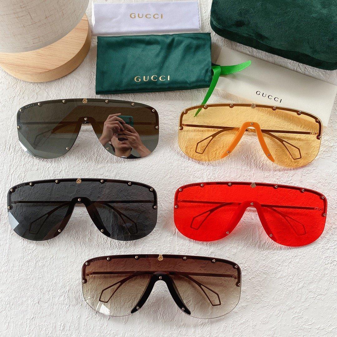 GUCCI古驰 GG0667S 古琦太阳眼镜 护目镜 墨镜专柜同款(图1)