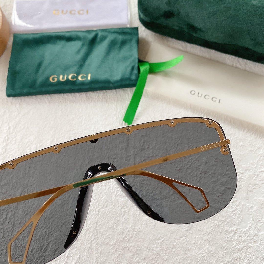 GUCCI古驰 GG0667S 古琦太阳眼镜 护目镜 墨镜专柜同款(图7)