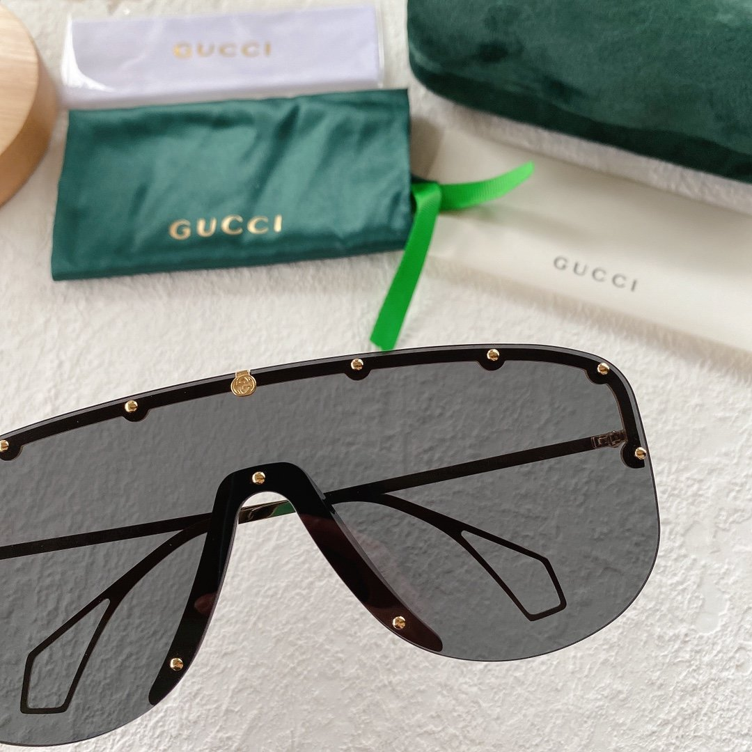GUCCI古驰 GG0667S 古琦太阳眼镜 护目镜 墨镜专柜同款(图6)