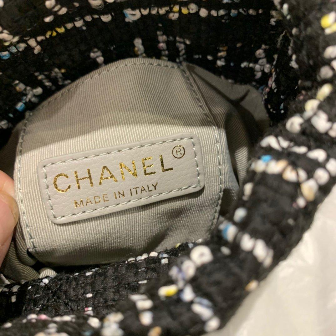 chanel香奈儿2020年最新款抽绳小桶包(图8)