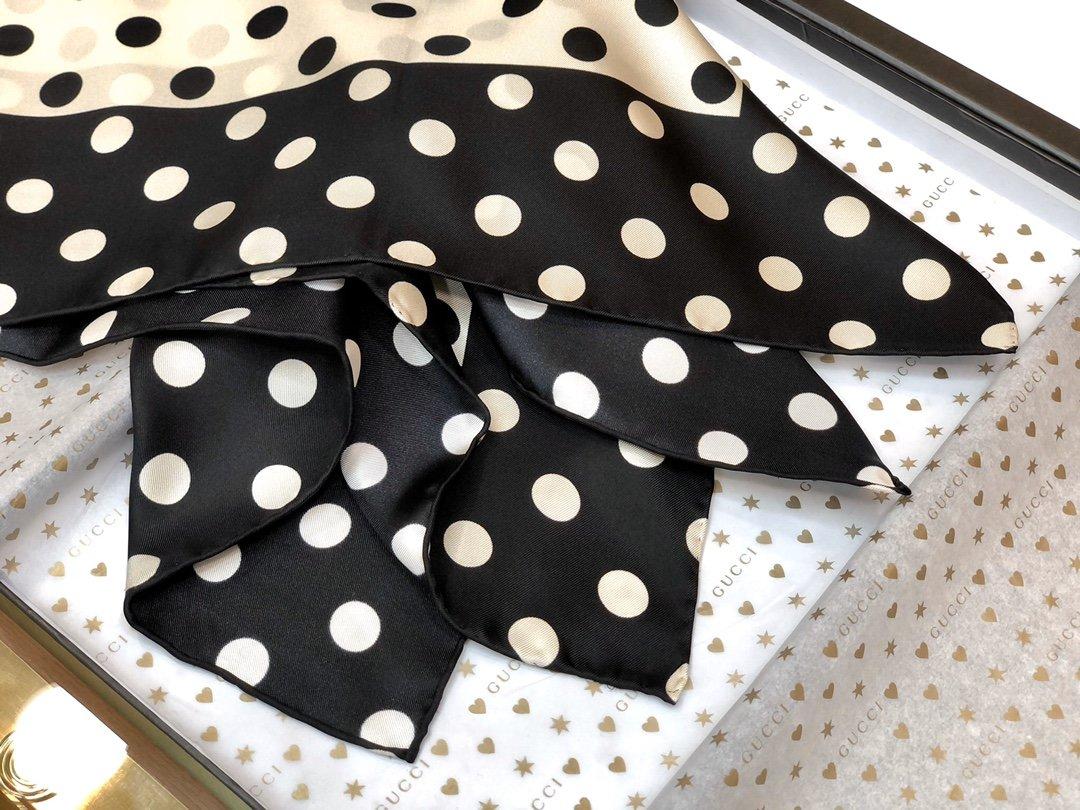 海外原单Gucci丝巾 100%真丝 (图4)