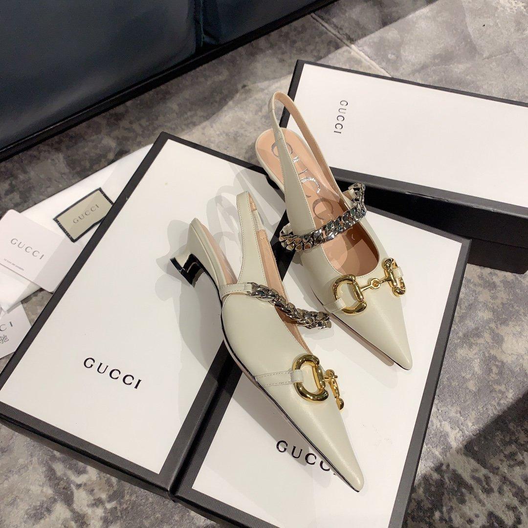 Gucci2020最新爆款 尖头鞋(图5)
