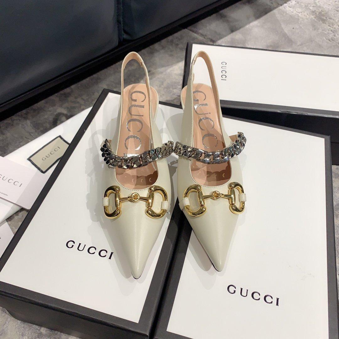 Gucci2020最新爆款 尖头鞋(图3)