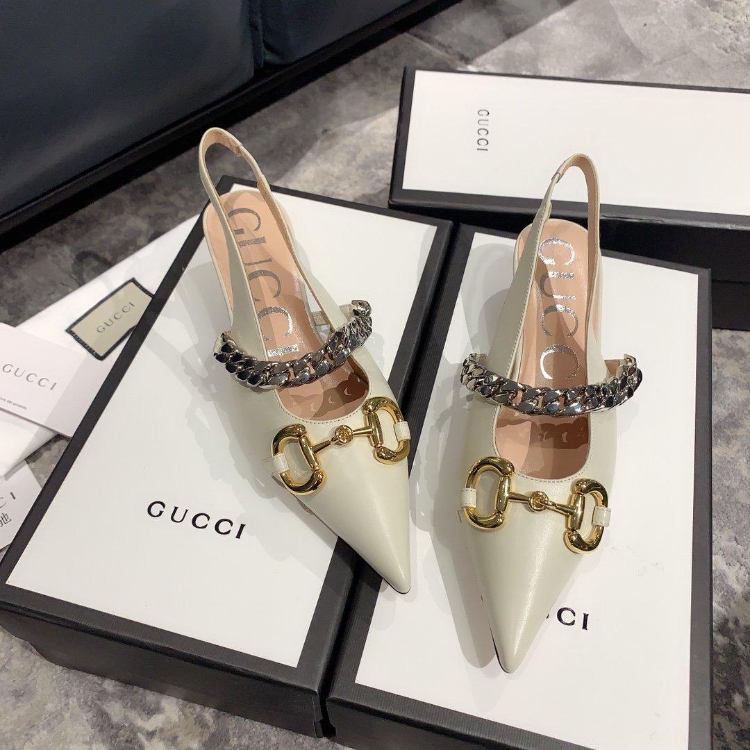 Gucci2020最新爆款 尖头鞋(图4)