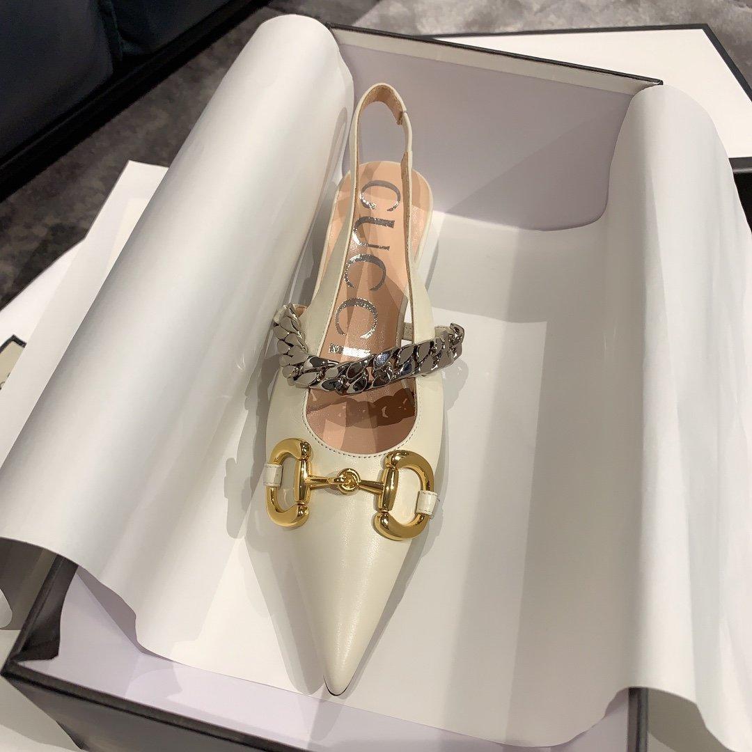Gucci2020最新爆款 尖头鞋(图7)