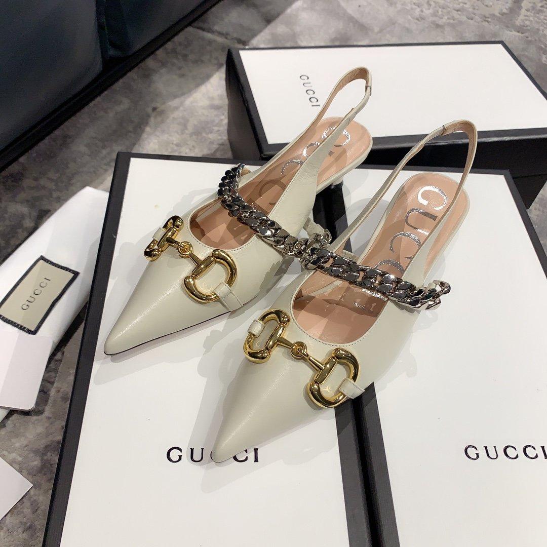 Gucci2020最新爆款 尖头鞋(图6)