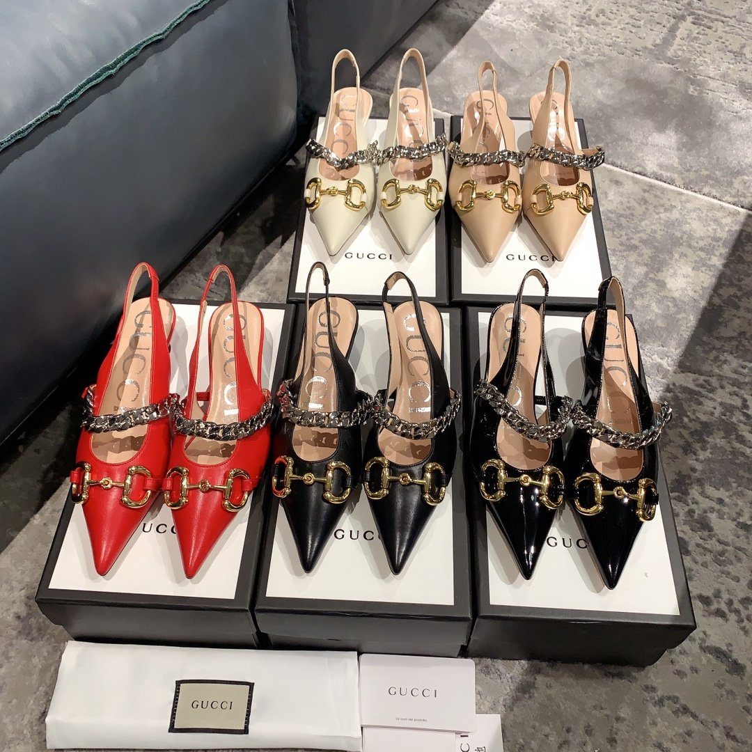 Gucci2020最新爆款 尖头鞋(图2)