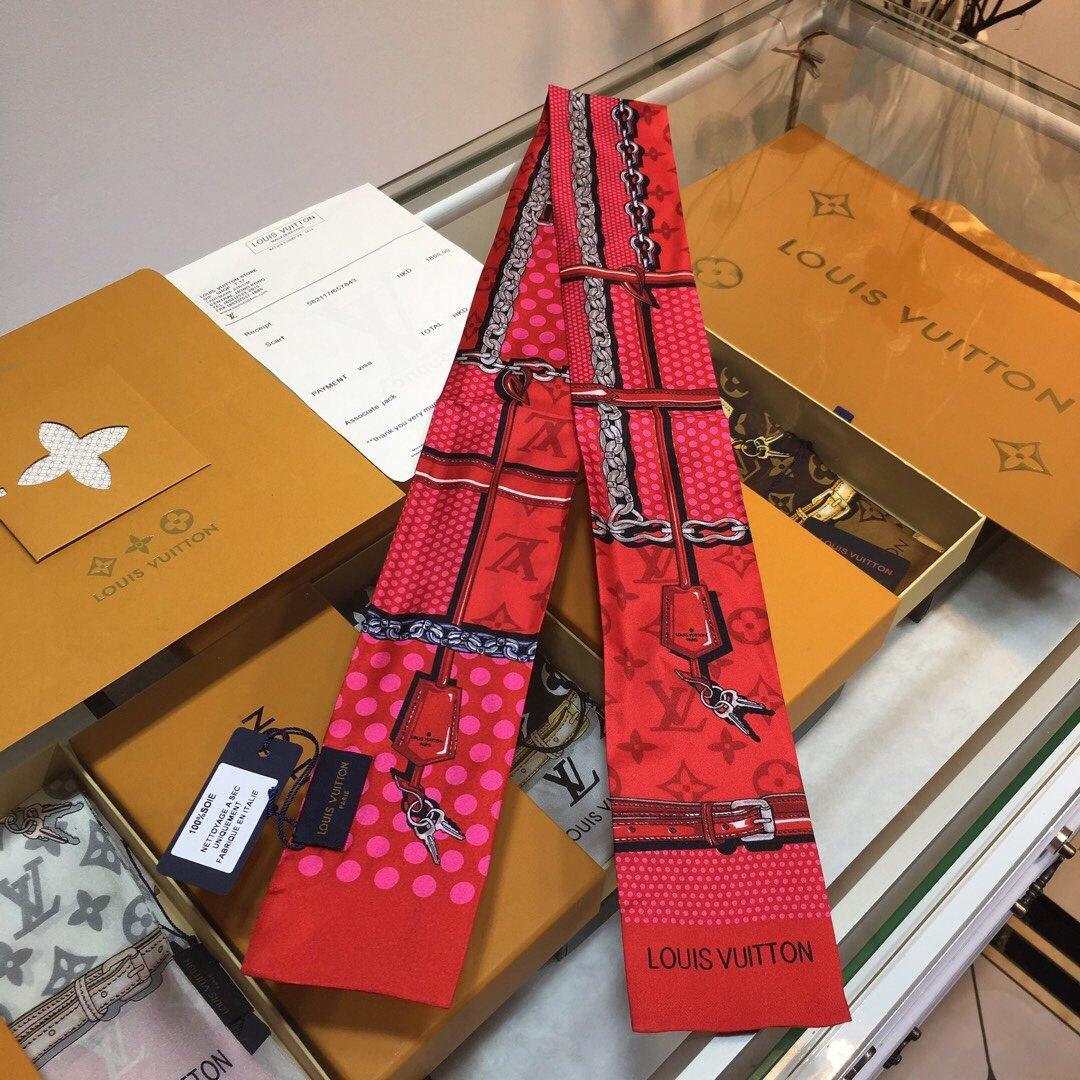 Lv最新双层束发带绑带.领结.飘带各