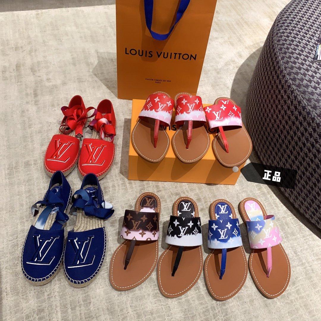 Lv2020早春新款度假拖鞋专柜同款(图1)